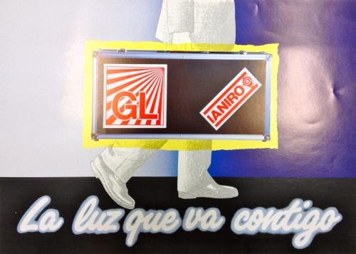 Boceto de lo que sería el catalogo, con nuestro logo antiguo