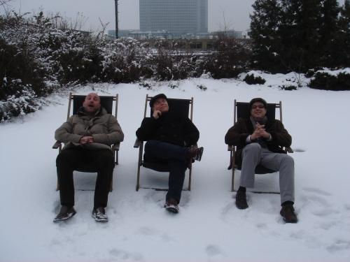 El frío nos ayudó a meditar