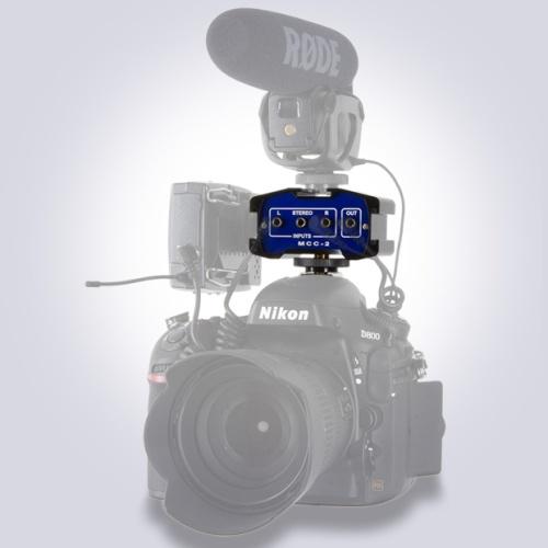 Nuestro MCC-2 con una Nikon D800