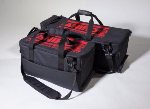 El ECO y el DiGi, con bolsa acolchada de Ianiro