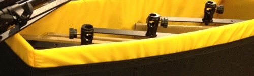 Detalle de la bolsa acolchada TecPro para los G Kits