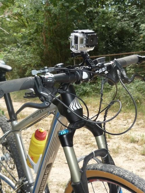 Preparando la bicicleta...
