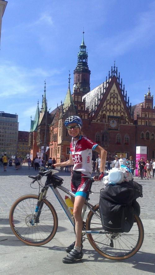En Wroclaw con la Hero 3 a punto