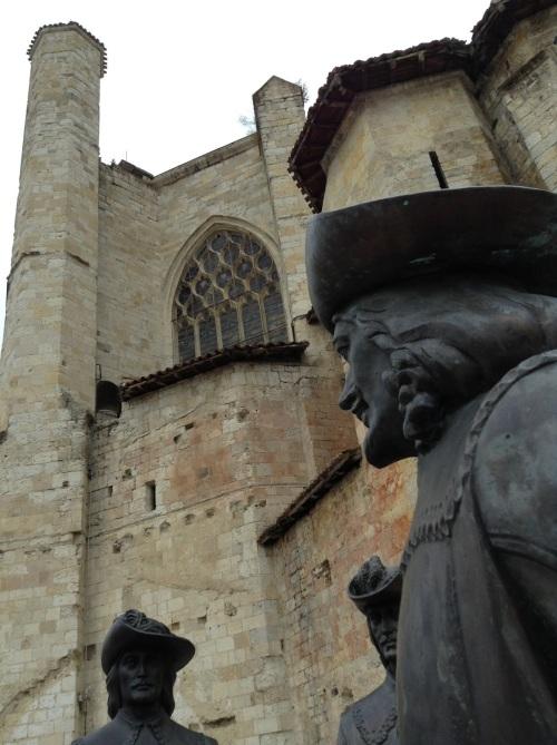 La catedral de Condom y sus mosqueteros
