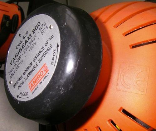 Varibeam de fibra, naranja