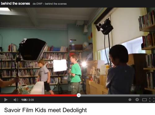 Niños descubriendo Dedolight