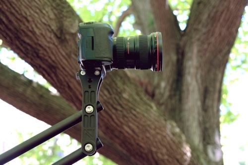 Soporte de cámara reversible
