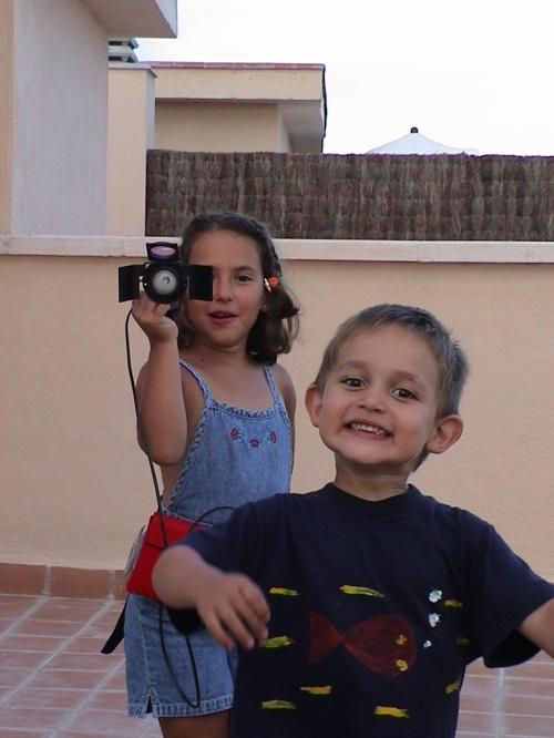 ¿Antorcha o cámara?
