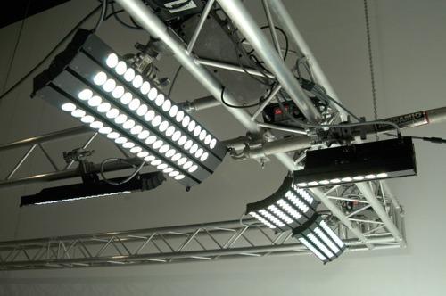 Los HighPower se pueden curvar para iluminar cicloramas