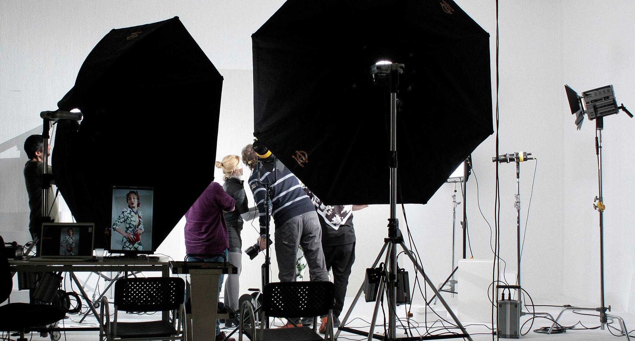 Sesión fotográfica con la top model Duran para el próximo editorial de Horse Magazine