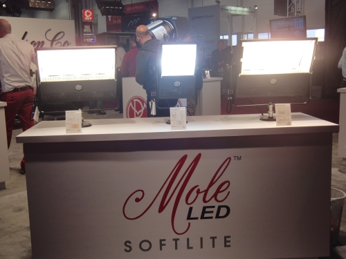 La familia SoftliteLed de Mole Richardson