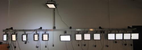 A todo LED, con toda una gama de paneles matriciales a elegir