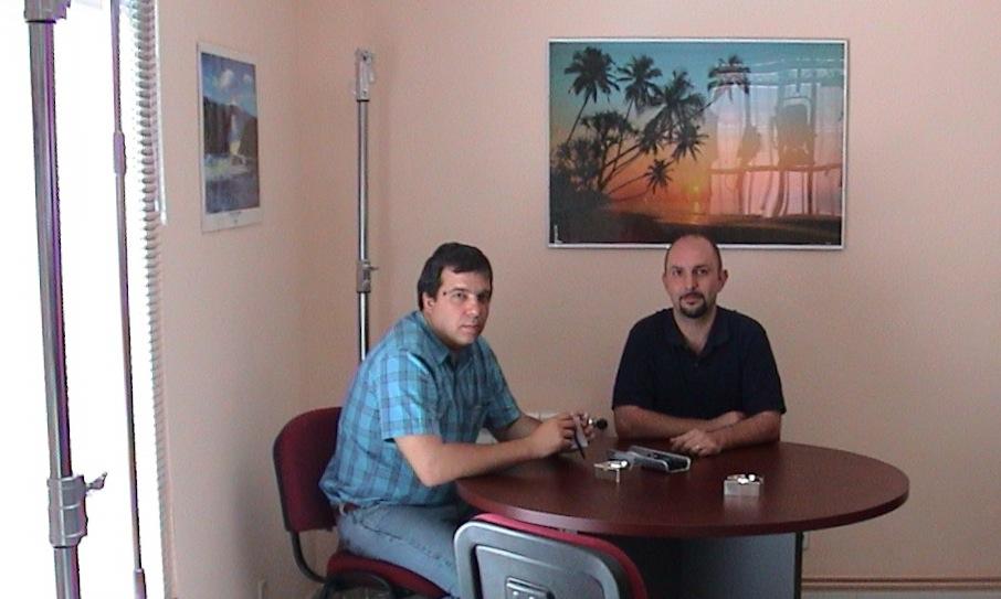 Reunión Marc Galerne y Alfons Grau el 2002 en nuestra antigua tienda de Madrid