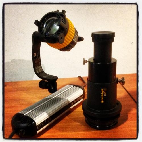 Proyectores dedolight: DLED4 y montura de proyección