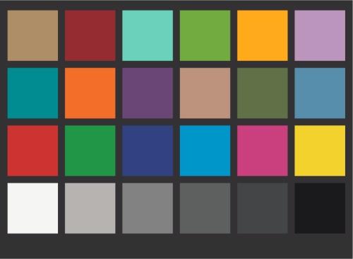 Cartas de cámara D-Rodaje / DanesPicta: Cartas de color, de ajuste, claquetas