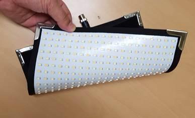 Panel flexible y lavable de Cineroid