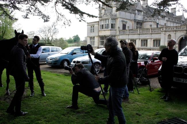 Shooting en Londres para campaña de moda